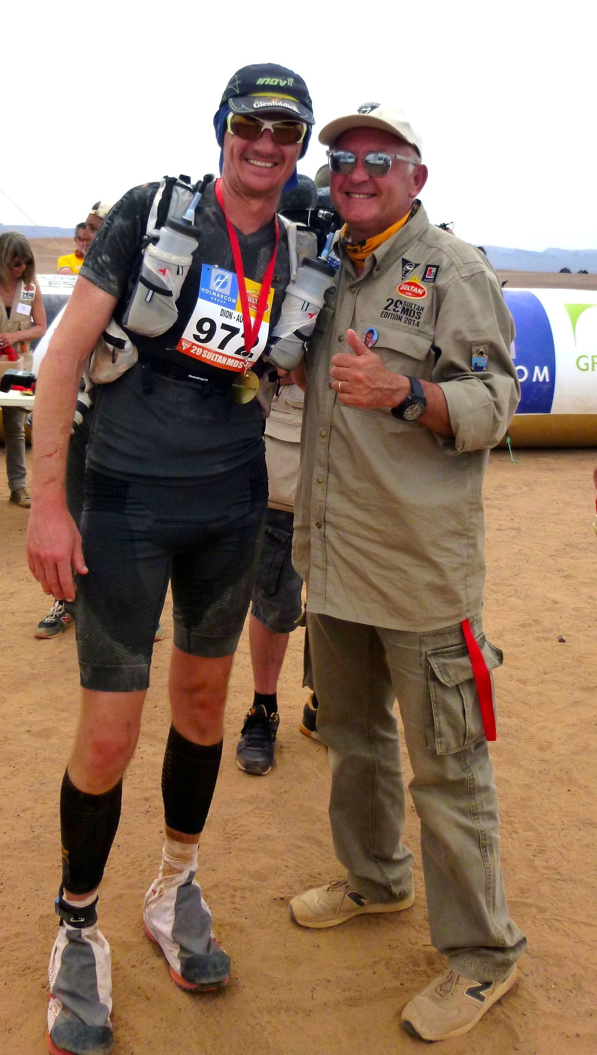 Dion Leonard., Morocco, Marathon Des Sables 250km 2014