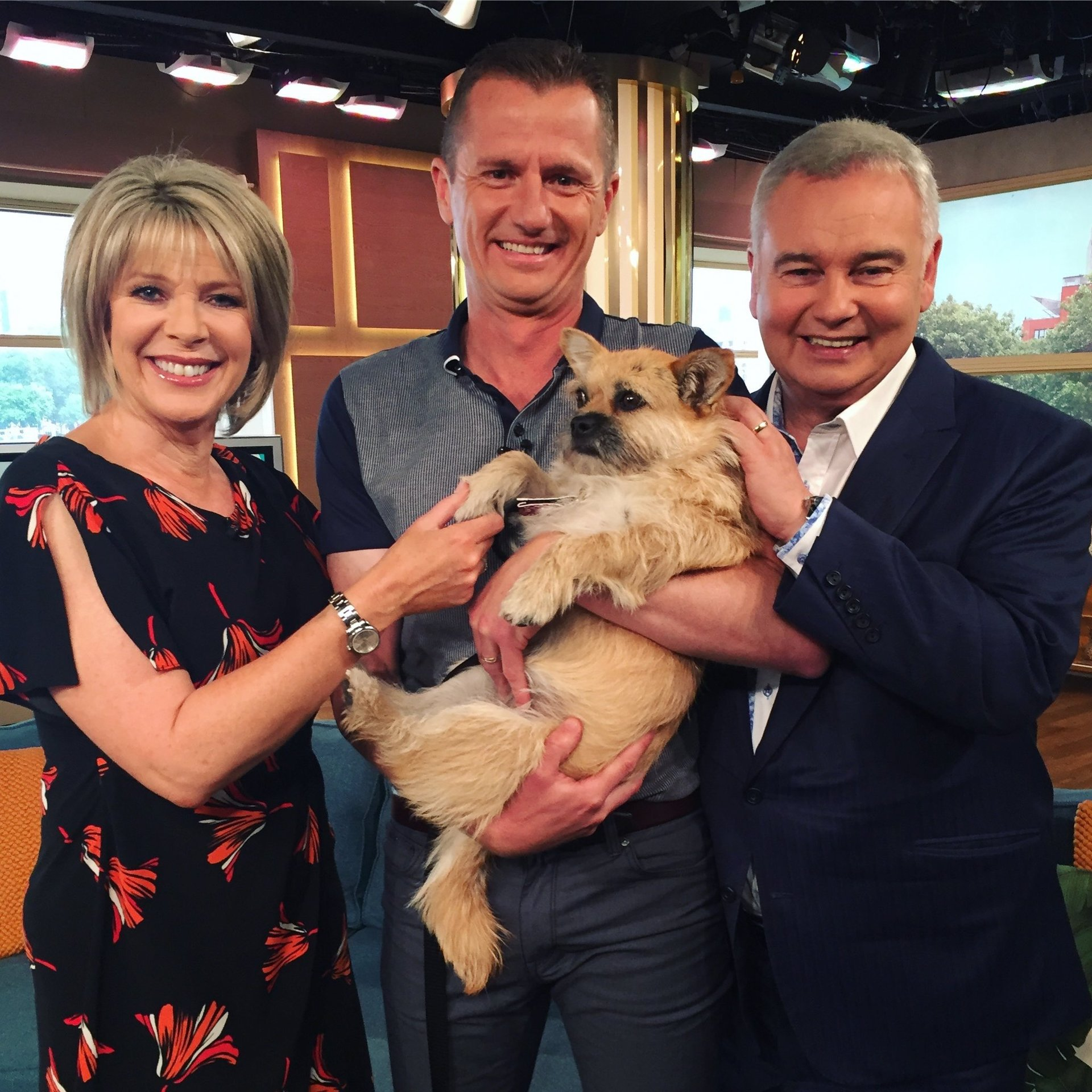 This Morning, Eamonn Holmes, Ruth Langsford, Gobi the Dog, Dion Leonard, This Morning, ITV