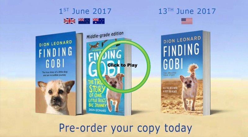 Finding Gobi Book Launch, Dion Leonard