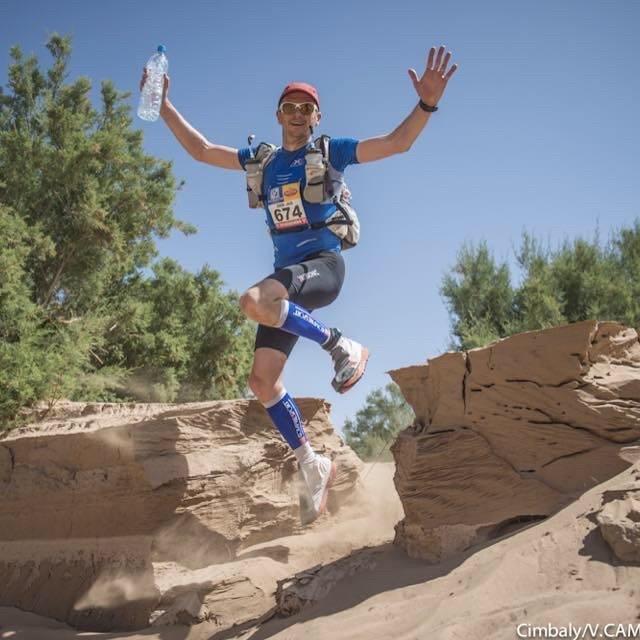 Dion Leonard Marathon Des Sables 250km  2015
