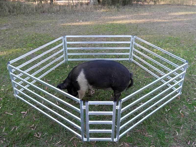 Portable Aluminium Livestock Ramps Amp Yards