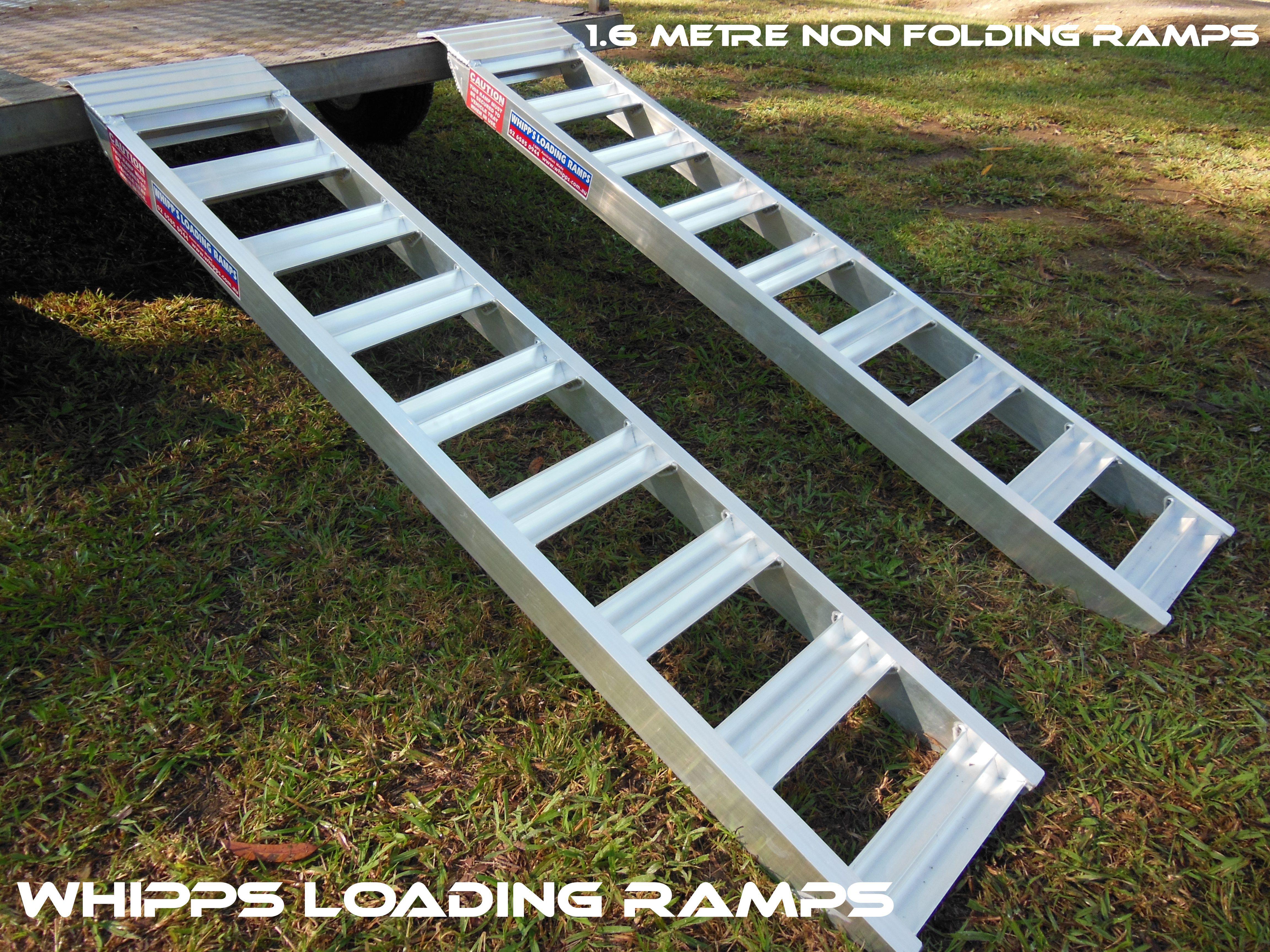 1.6 metre aluminium atv ramps