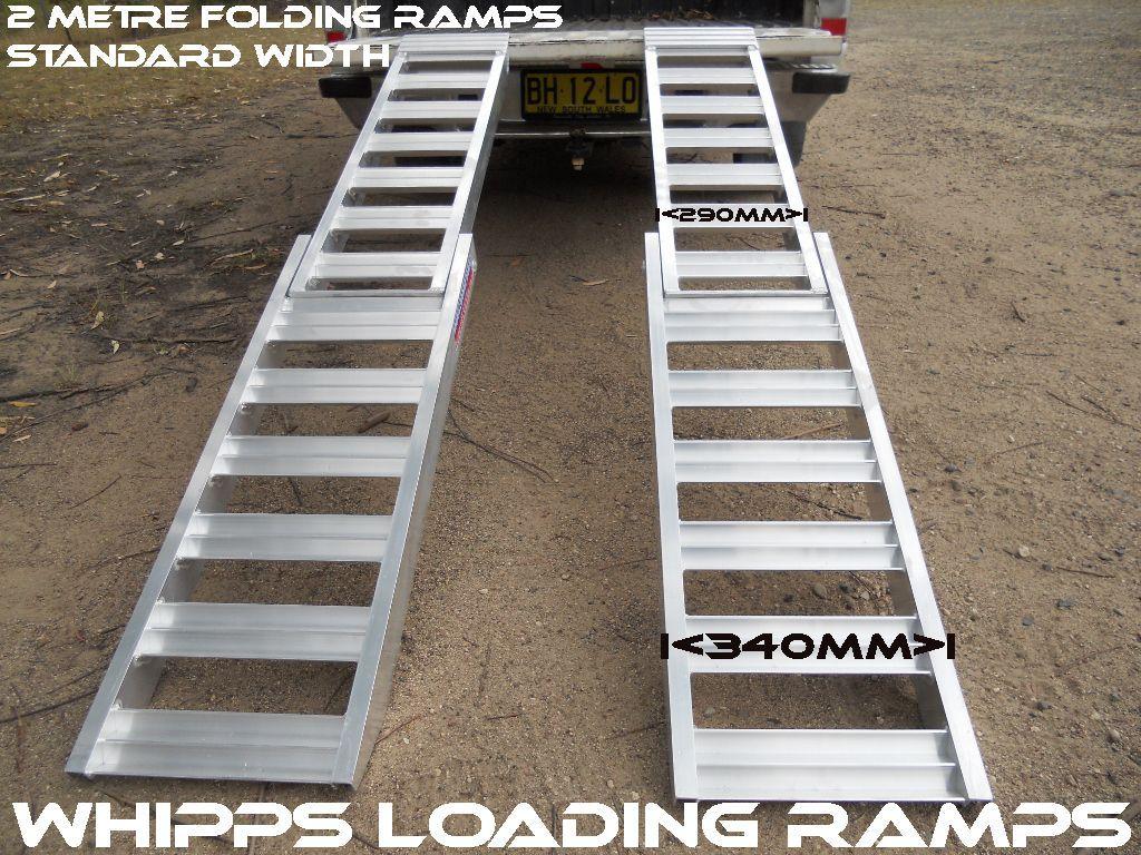 2 metre ATV loading ramps