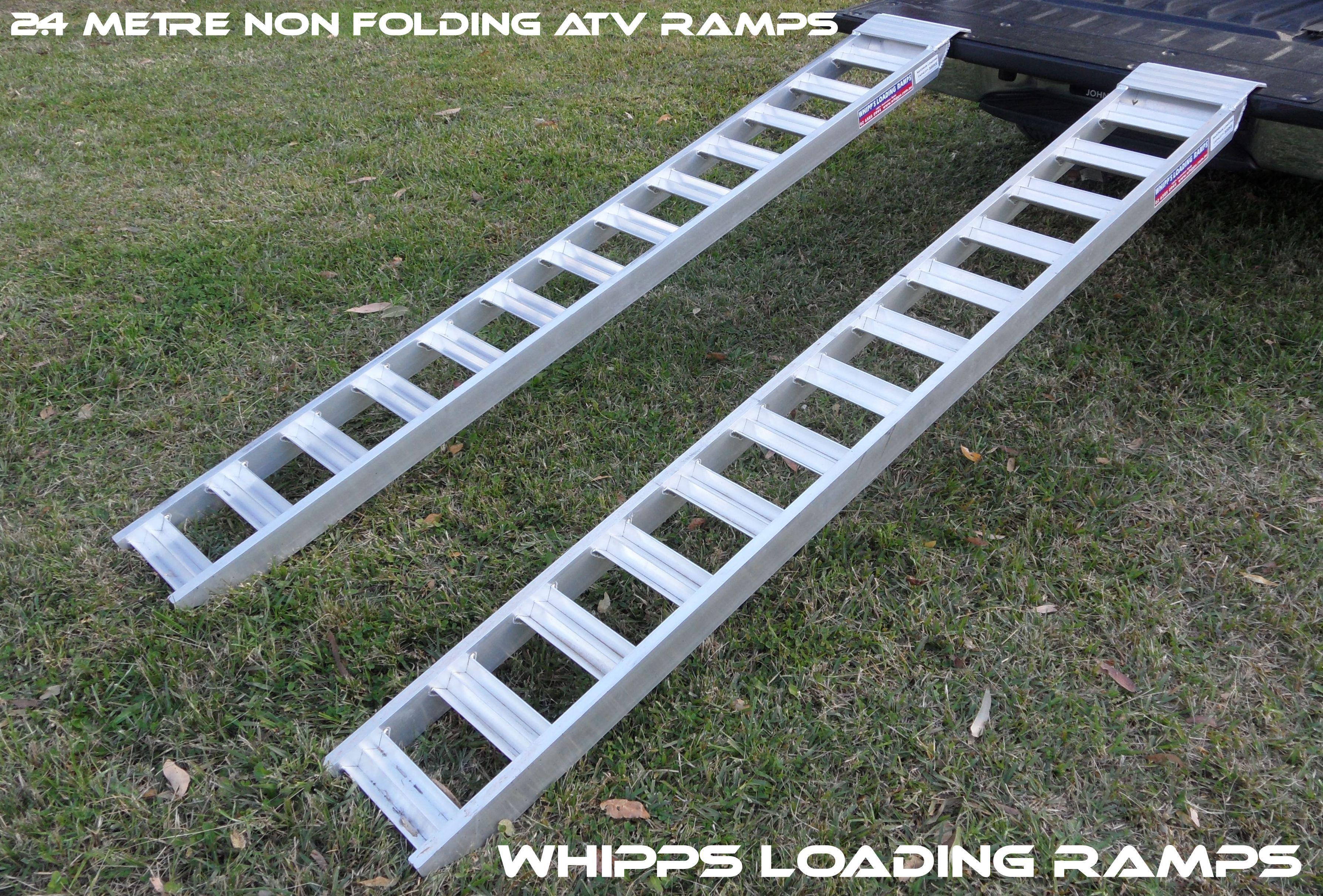 2.4 metre ATV Quad Loading Ramps, aluminium loading ramps, ramps