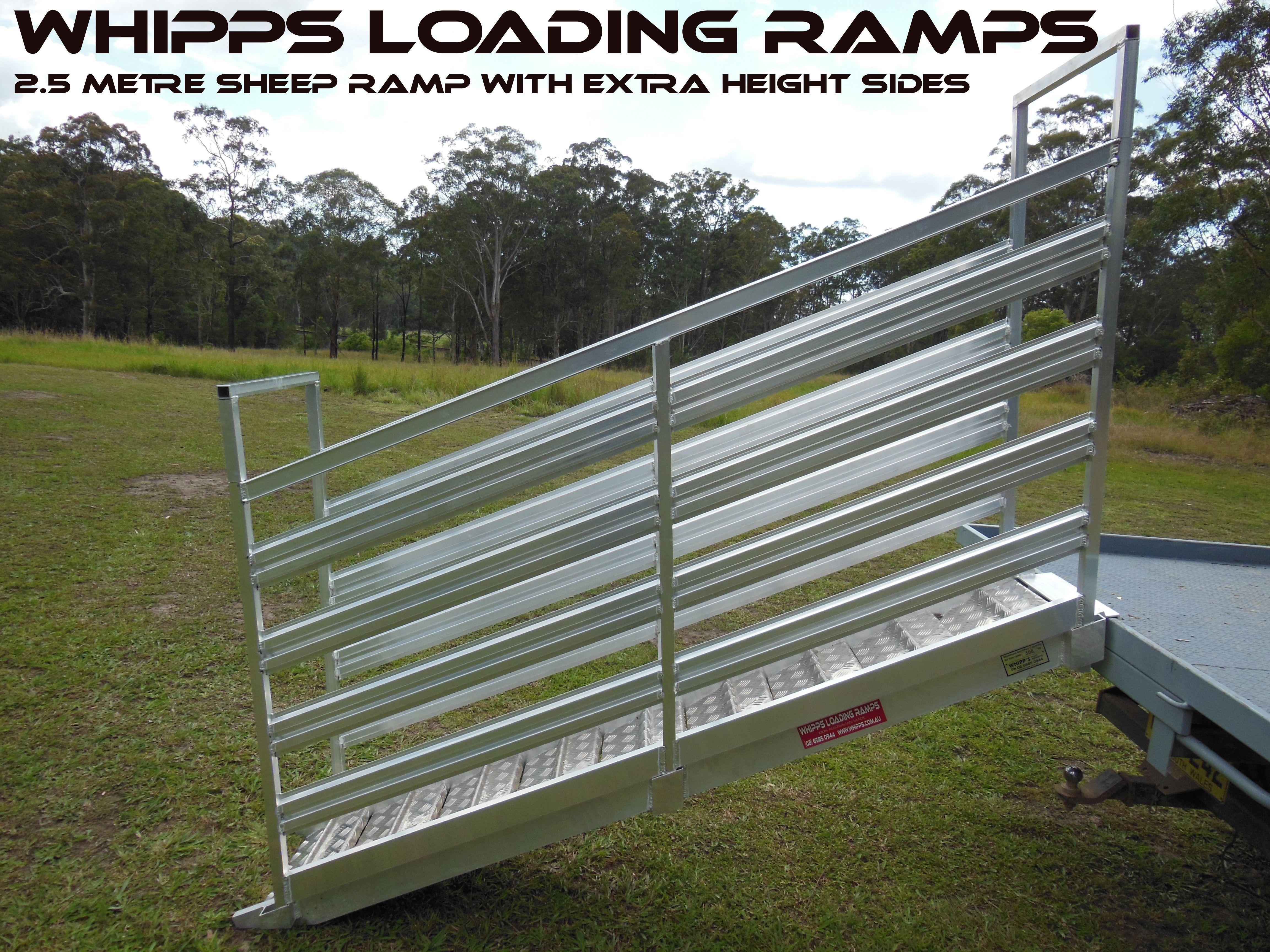 Aluminium Sheep Loading Ramp
