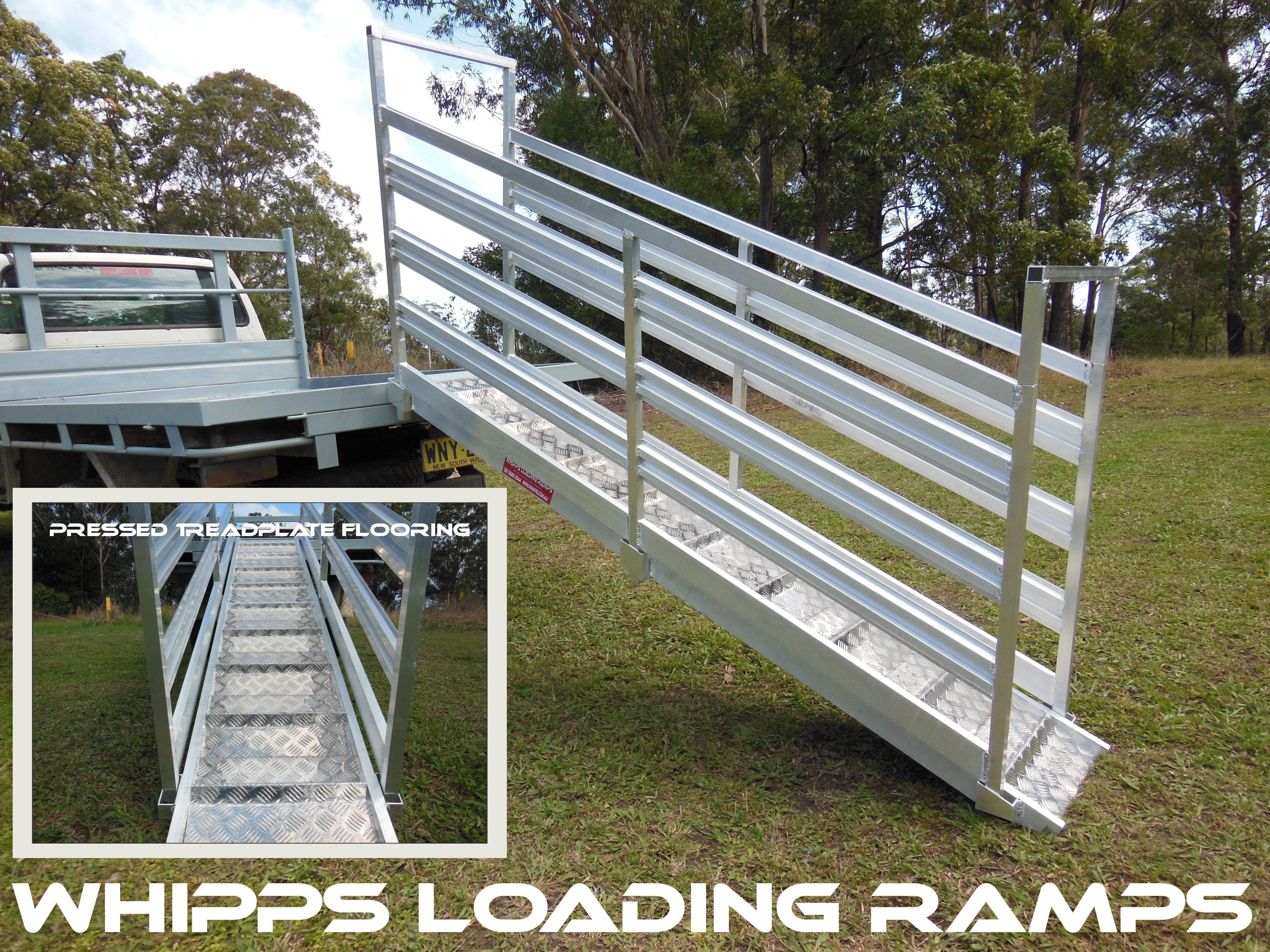 Aluminium pig goat sheep loading ramp