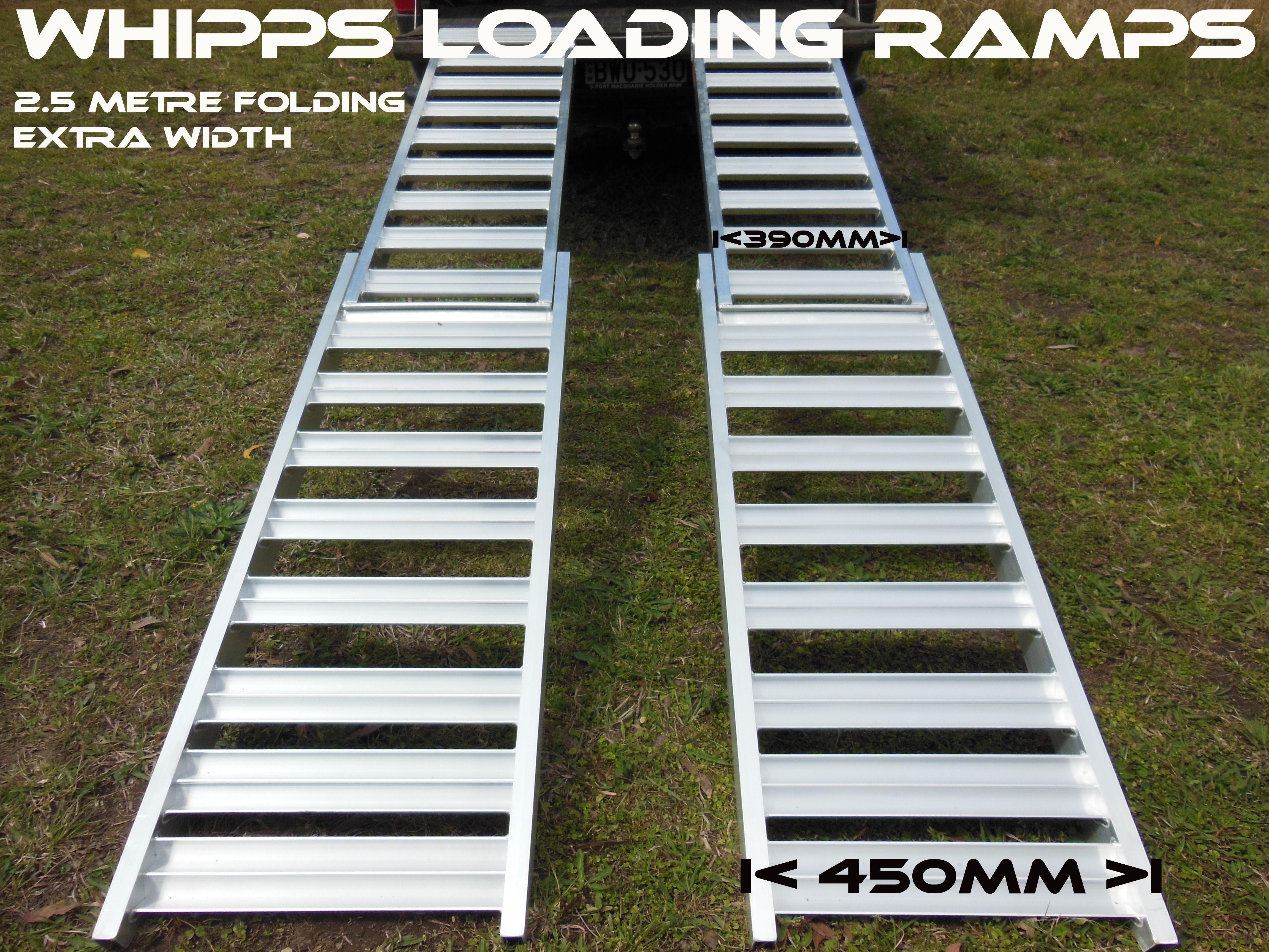 Quality Australian Made Quad Bike Loading Ramps, ATV Ramps, UTV ramps, Structural aluminium loading ramps