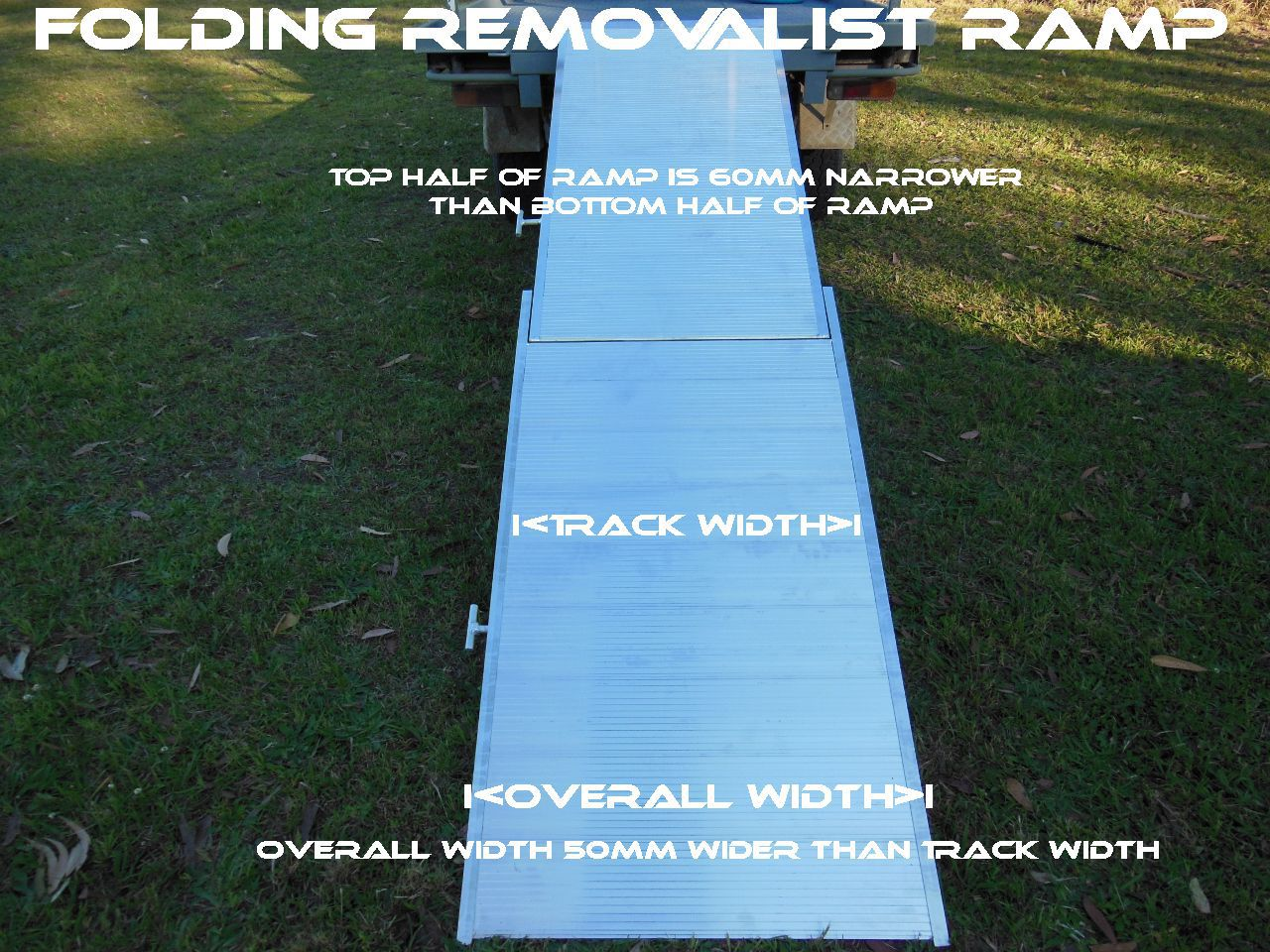 folding removalists ramp