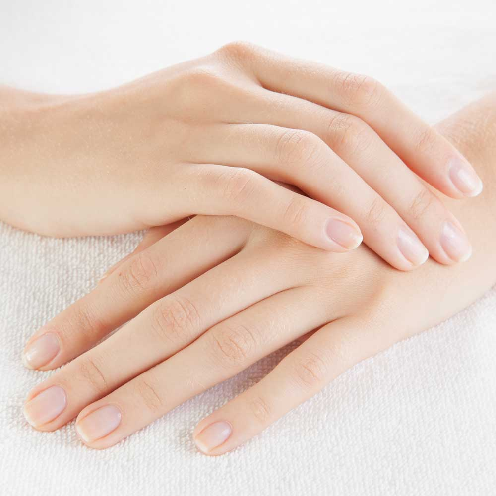 Soft, and naturally beautiful hands