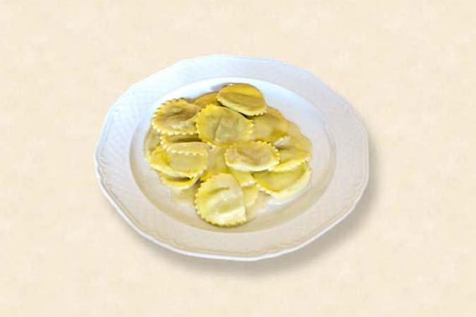 ravioli con burro e parmigiano