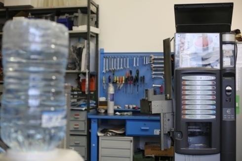 riparazione distributore automatico