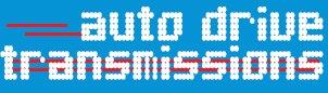 auto drive transmissions business logo