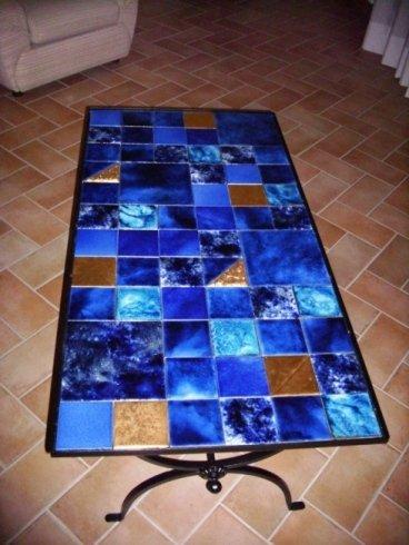 realizzazione tavolo in ferro battuto