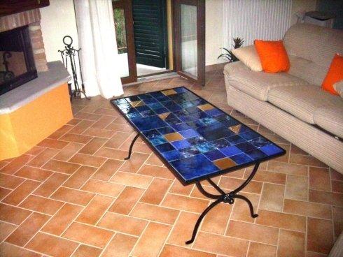 progettazione tavolo in ferro battuto