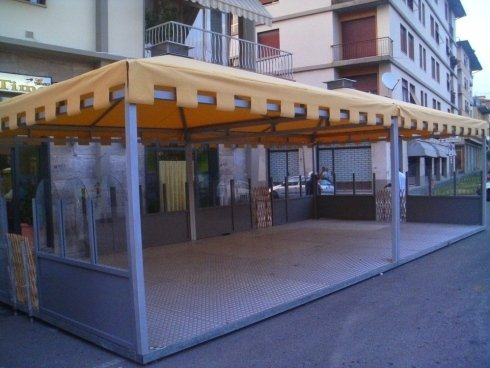 Gazebo per bar Firenze