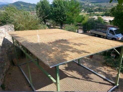 Produzione gazebo in ferro su misura