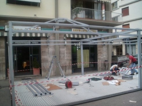 Progettazione gazebo Firenze