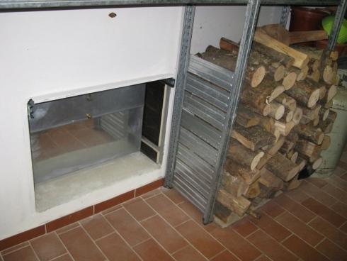 cassetta per legna su misura Firenze
