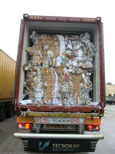 Cardboard transport