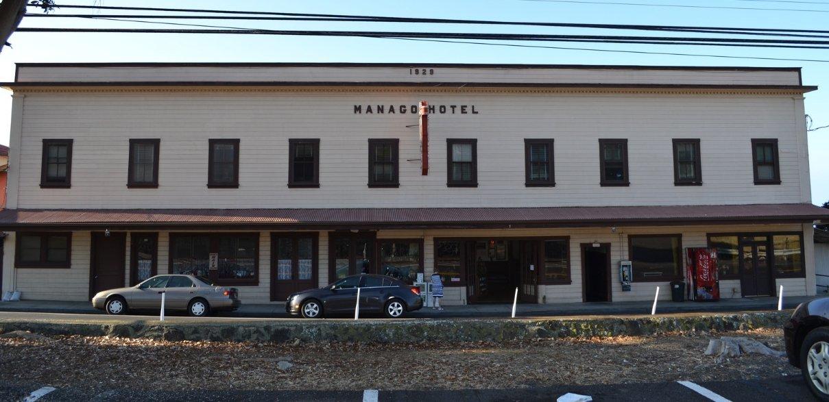 Exterior of Manago Hotel