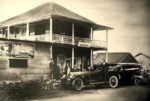 Manago Hotel in 1917