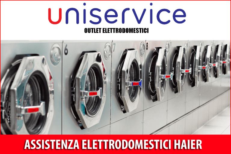 Assistenza Elettrodomestici Haier - Torino - Uniservice