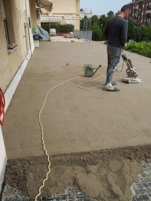 lavorazione pavimenti