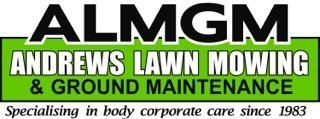 andrews lawn ground maintenance logo