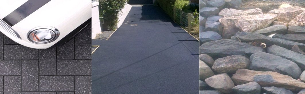 An example of our stunning brickwork paving, asphalt and rockwalling in Dunedin