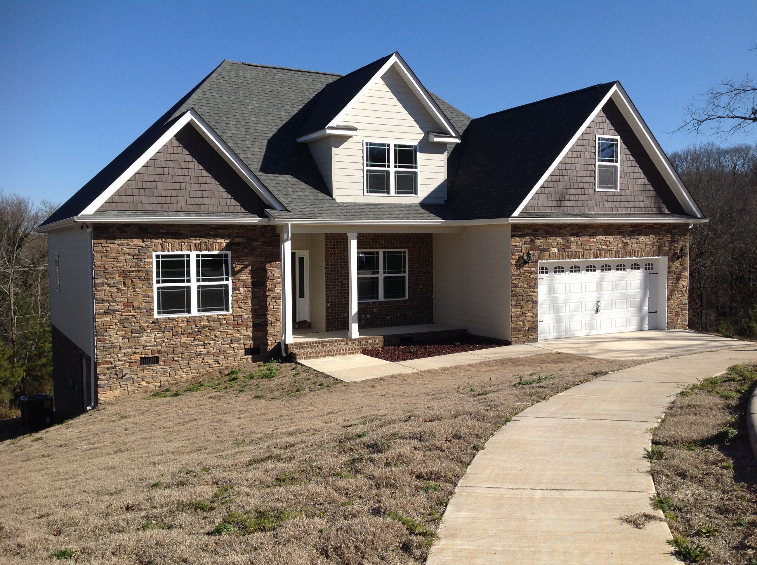 finished caney ridge circle new construction