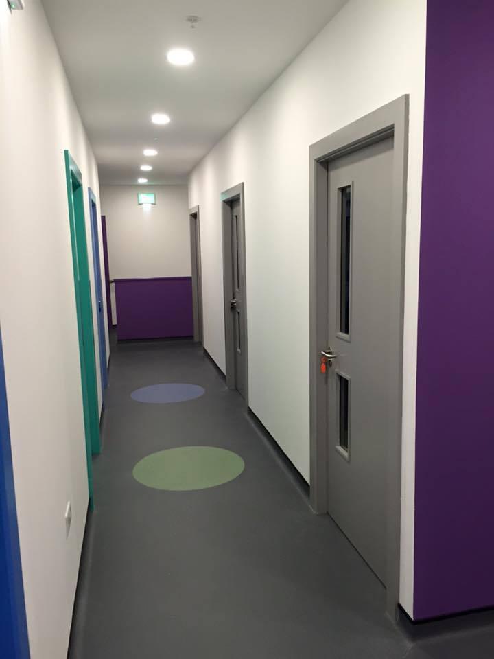 The corridor area
