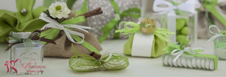 confetti e bomboniere matrimonio sacchetti