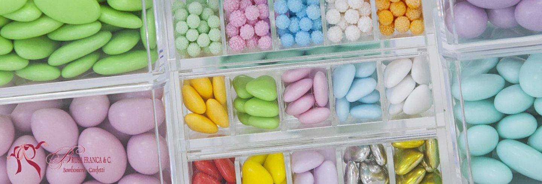 confetti colorati per matrimonio