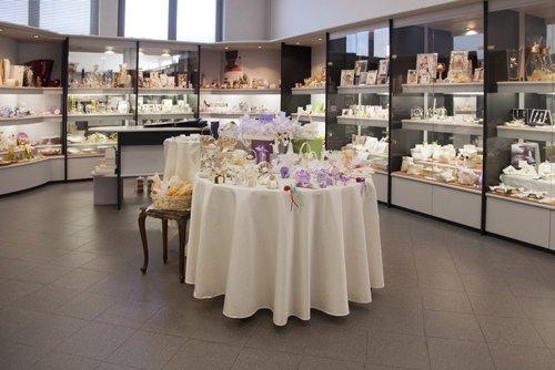 negozio di bomboniere per il matrimonio-vista frontale