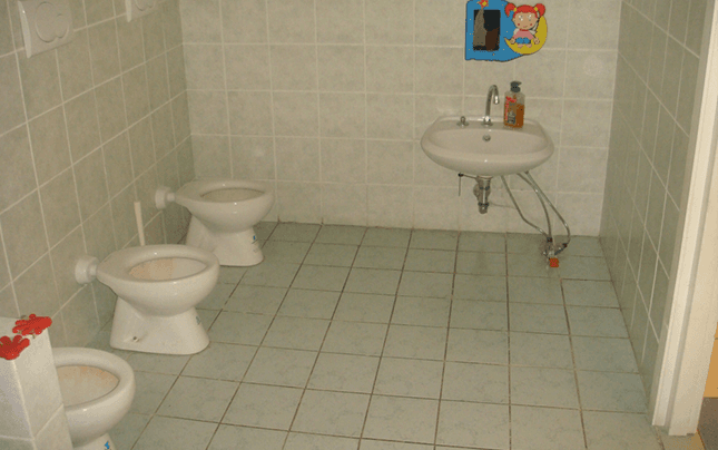 bagni per bambino