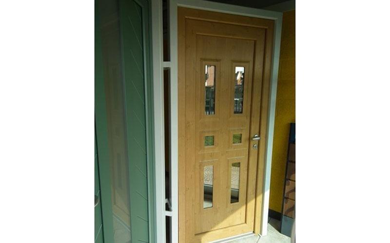 porta esterna in legno