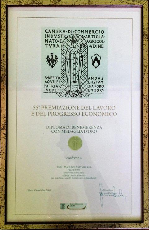 Premio Camera di Commerci di Udine