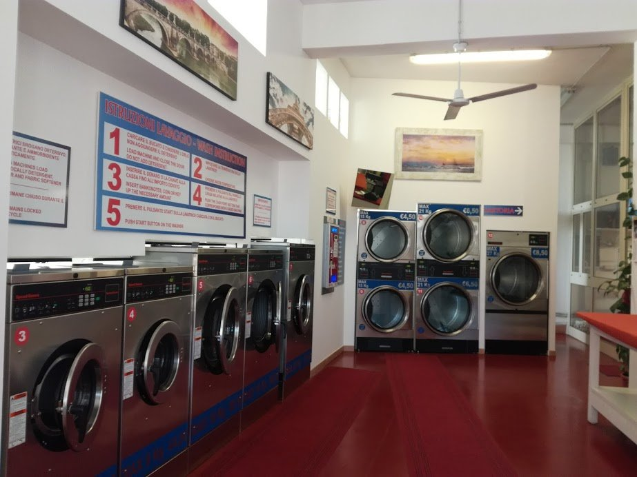vista interno lavanderia