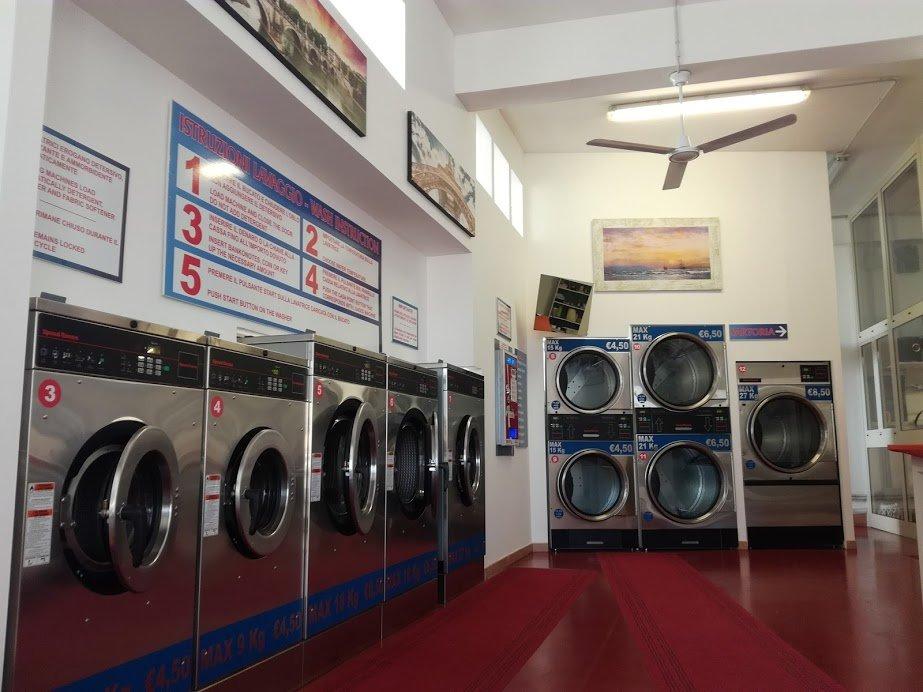 vista lavanderia interno