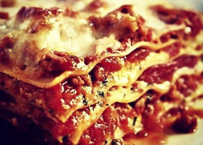 Lasagne al forno a Rimini