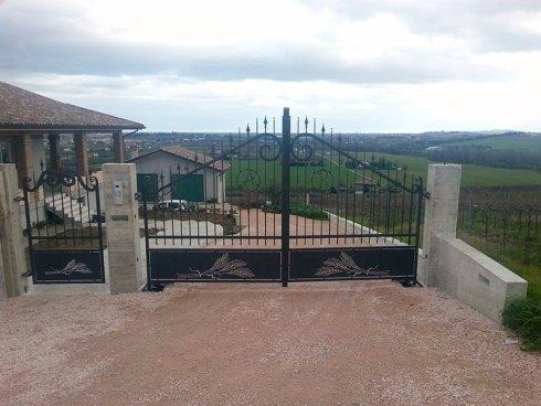 cancello classico in ferro