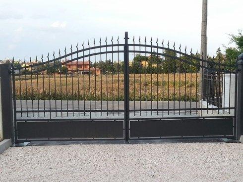 cancello doppia anta