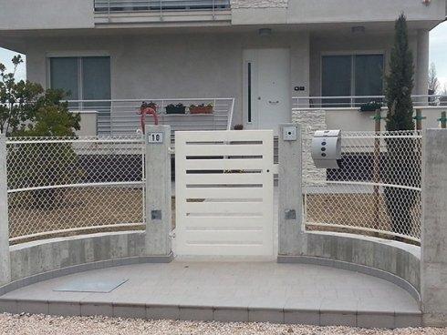 cancello villetta