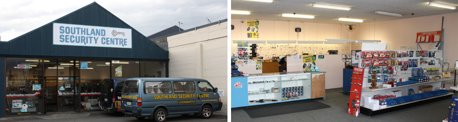 Security shop in Invercargill