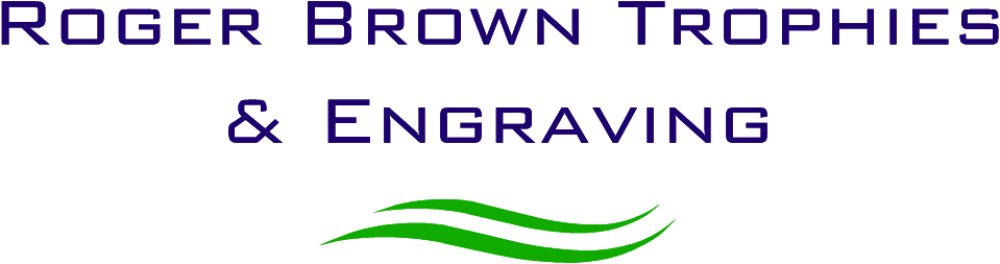 Roger Brown Trophies logo