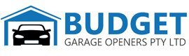 budget garage openers pty ltd logo