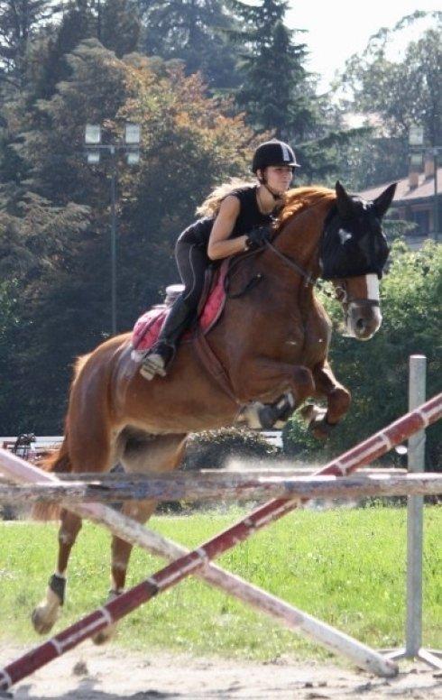 Salto con cavallo