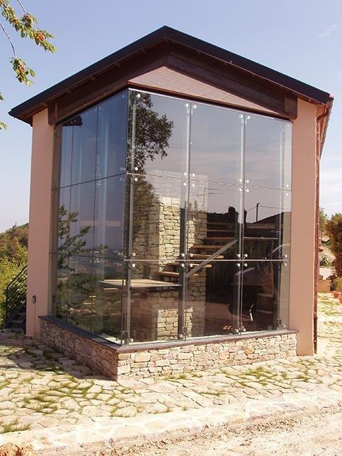 vetrate per facciate esterne