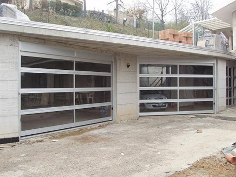 recinzioni in alluminio e PVC