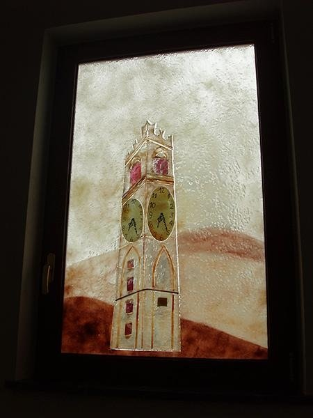 vetrata artistica per interni